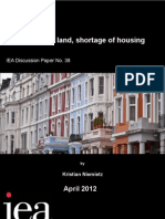 Abundance of Land Shortage of Housing