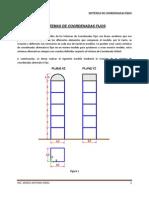 Sistemas de Coordenadas Fijos EN SAP2000