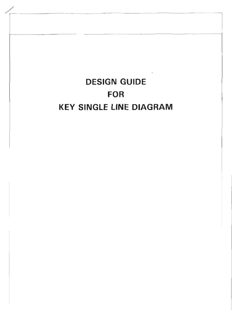 Key Single Line Diagram(1) | Electrical Substation | Electric Power ...