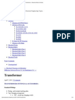 Transformer « Electrical Notes & Articles