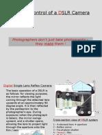 Basic (D)SLR Camera Controls