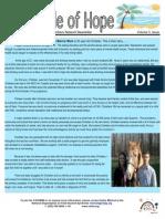 Circle of Hope Newsletter - Summer 2012