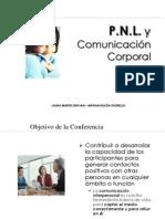 Conferencia Pnl y Comunicacion Corporal