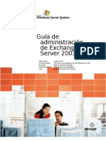 Exchange Server 2003 Administration Guide ES V3