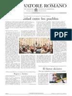 L´OSSERVATORE ROMANO. 29 Julio 2012