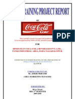 Project Report on Coca Cola in Kanpur
