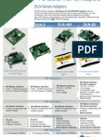Flyer Demoboards Adapters