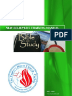 New Believer's Training Manual