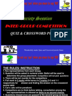 Wonderfully Made Quiz Oct 2011