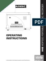 Hbb 500 Mini Recorderinstruction Manual