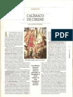 Cuenca, Luis Alberto de - Calímaco de Cirene (1P)