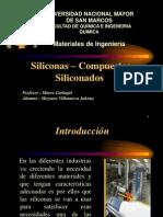 Siliconas Compuestos Siliconados