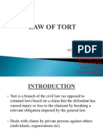 Law of Tort Final Ppt