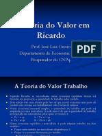 A Teoria Do Valor Em Ricardo