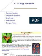 Chapter 2 - Energy and Matter
