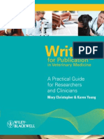 Writing for Publication in Veterinary Medicine, Laing Danet