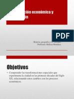 Modernización económica y urbanización
