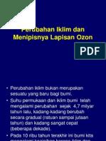 IX. Perubahan Iklim Dan Menipisnya Lapisan Ozon