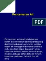 VII. Pencemaran Air