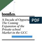 BoozCo Private School Expansion GCC