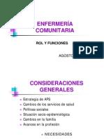 2009 Clase Enfermeria Comunitaria