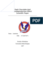 Scientific Paper Anastasia Dark Chocolate and MCI