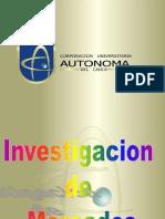 Invstigacion de Mercados - Catedra 1