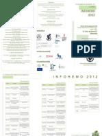 Diptico y Hoja Inscripcion Infohemo 2012