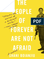 The People of Forever Are Not Afraid by Shani Boianjiu - Excerpt