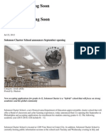 latest news solomon charter school announces september opening - search results  philasun com