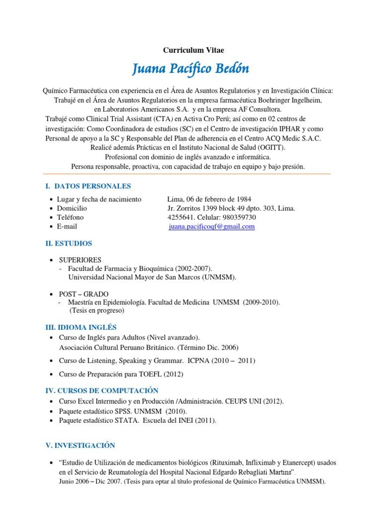 Cv Juana Pacifico Aseg