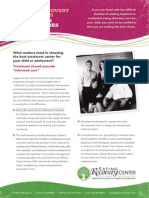 Child and Adolescent Care for Eating Disorder Treatments