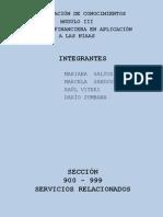 NIAAS SECCIÓN 900-999 SERVICIOS RELACIONADOS