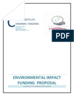 Environmental Grant Proposal - Brian m Touray - Zest Project