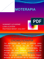 CROMOTERAPIA diapositivas