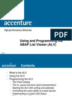 ALV Programming