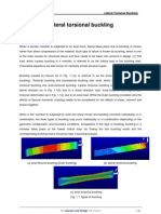 Lateral Torsional Buckling