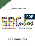 Catálogo SBCUBOS versão 1