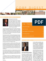 Transcorp Digest Newsletter - Volume 1, Issue 1 - August 2012