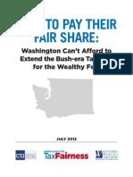 Tax Fairness Report Wa
