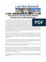 Five Reasons Chicago Public Schools Should Have an Elected School Board