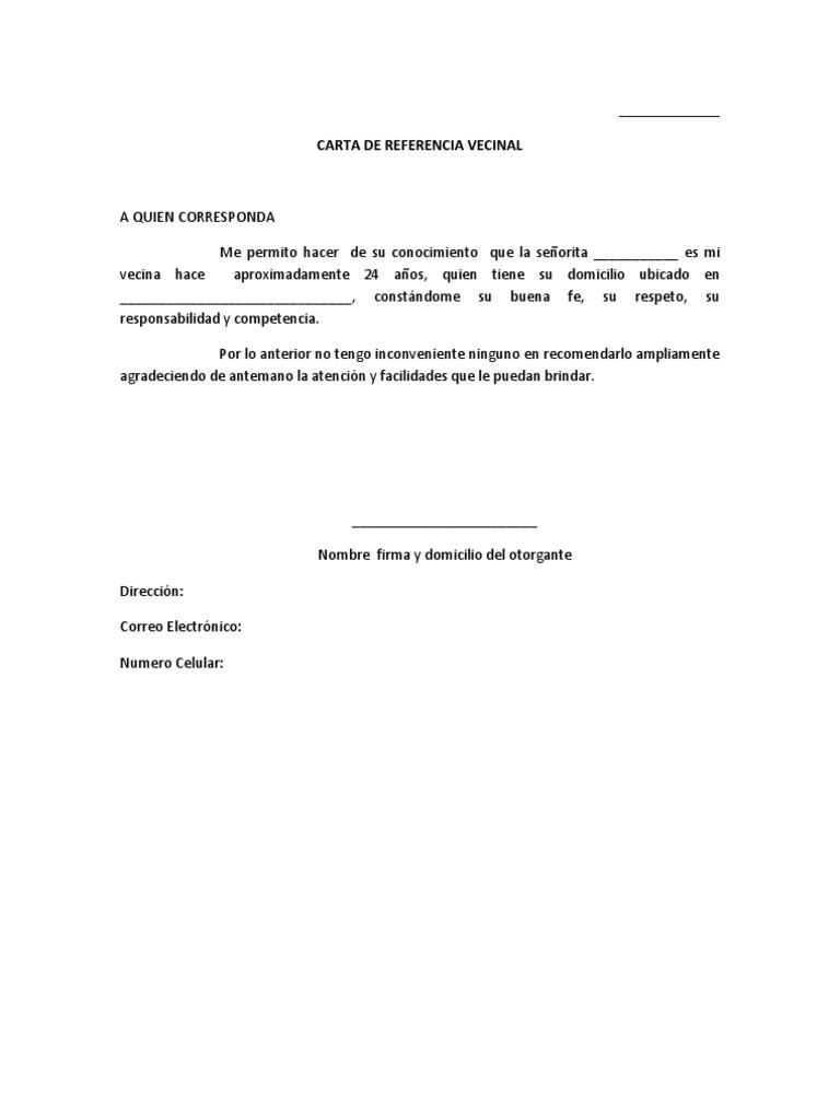 carta de referencia profesional - Gidiye.redformapolitica.co