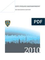 NYPD Annual Firearms Discharge Report