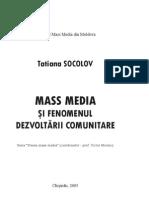Mass-Media Si Fenomenul Dezvoltarii Comunitare