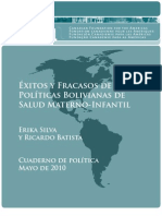 Bolivian Maternal Child Health Policies_May 2010