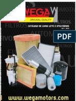 Catálogo Wega - Filtros de Ar, Cabine, Combs. e Óleo 2011-2012