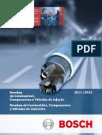 Catálogo Bosch - Bombas de Combustível e Válulas de Injeção 2011 - 2012