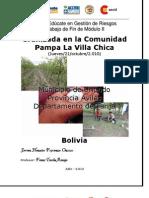 Granizada en La Comunidad Pampa La Villa Chica