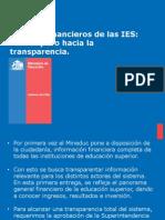 Los Estados Financieros de las instituciones de Educación Superior