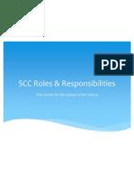 SCC Roles & Responsibilities